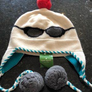 Kate Spade winter Pom Pom hat new with tags